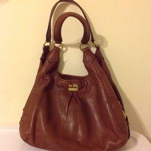 Brown Medium Sized Coach Bag